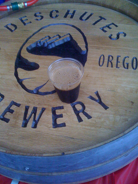 The murky Abyss from Deschutes