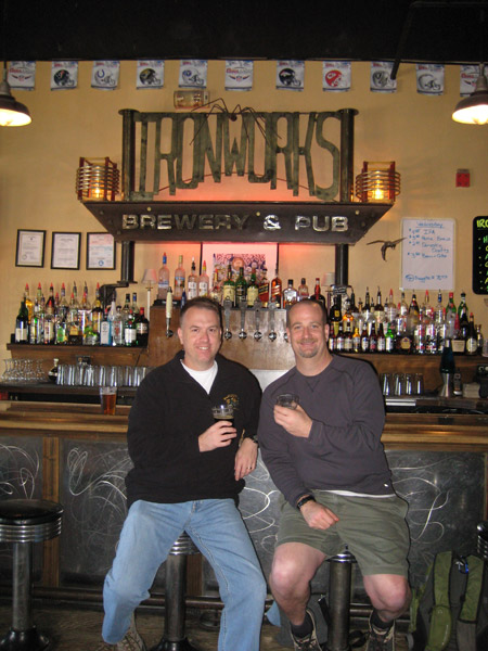 We both agreed that Ironworks Brewery in Lakewood, Colorado counted