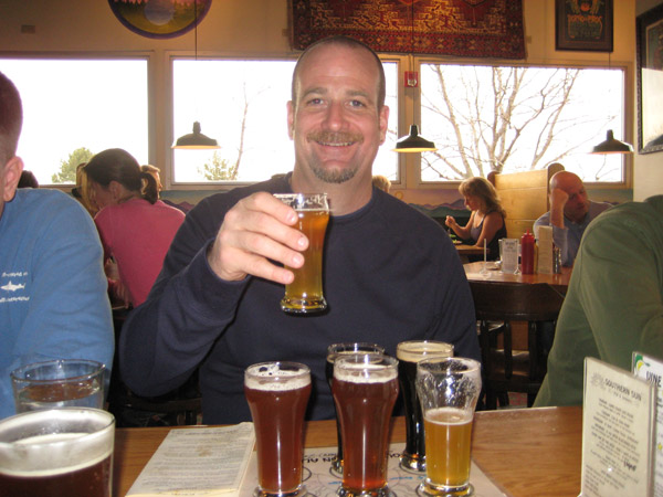 Although Chris downed the sampler at Southern Sun in Boulder, would he count it?  Although its a separate brewing location, its the same company (and some beers) as Mountain Sun across town.