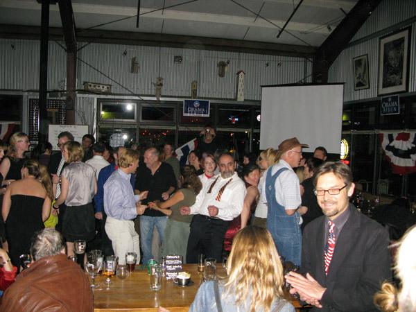 Inauguration night at Ol Factory