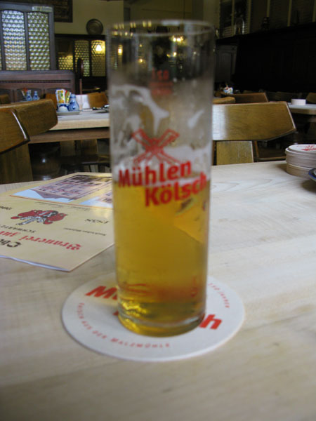 Kölsch at Malzühle with breakfast
