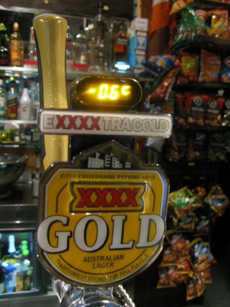 Cold Aussie macro lager.... yum yum