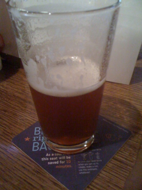Falcon Pale Ale on cask at Rock Bottom