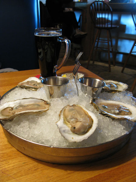 Oysters and Oyster Stout