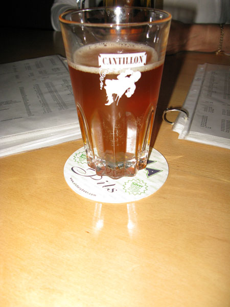 Cantillion Iris at Novare Res Bier Cafe