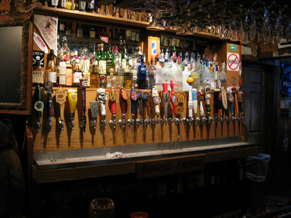 The taps at the Great Lost Bear